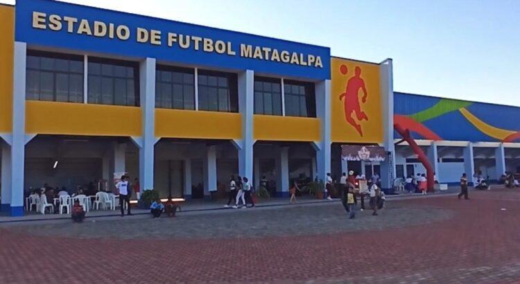 Nuevo estadio de Futbol en Matagalpa