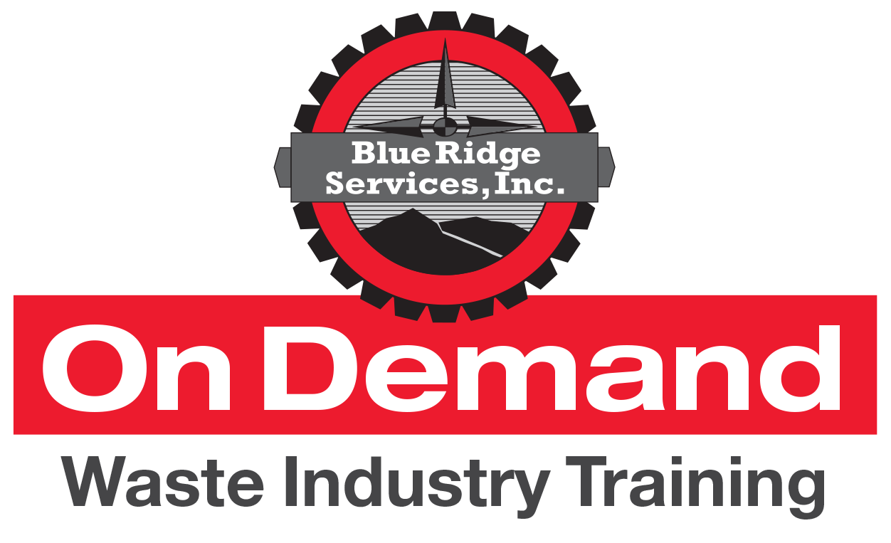 Blue Ridge Services on-demand waste industry training