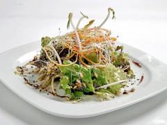 Ensalada de germinados mixtos estilo oriental