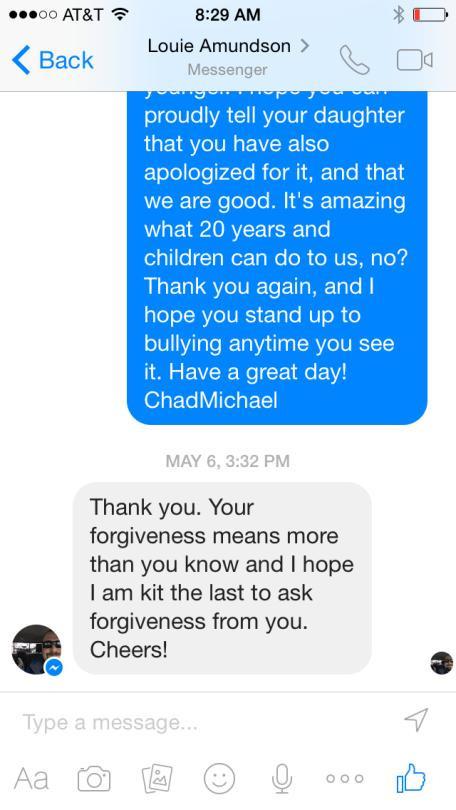 Facebook-apology