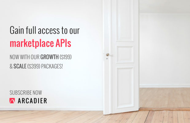 arcadier now offering api access with plans