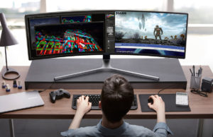 samsung new curved gaming monitor