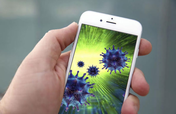 does your smartphone have a virus