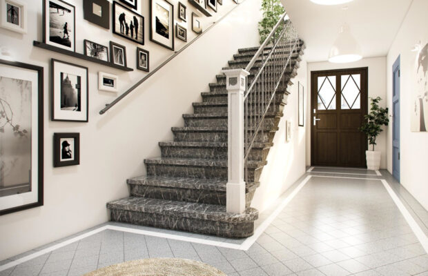 how handrail brackets have been improved to complement modern spaces