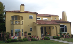 house painting exterior west LA house painter Beverly Hills
