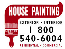 House Painting Contractors  Logo