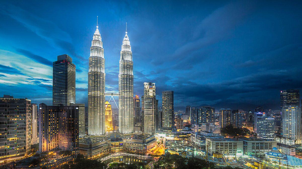 Petronas Towers in Malaysia