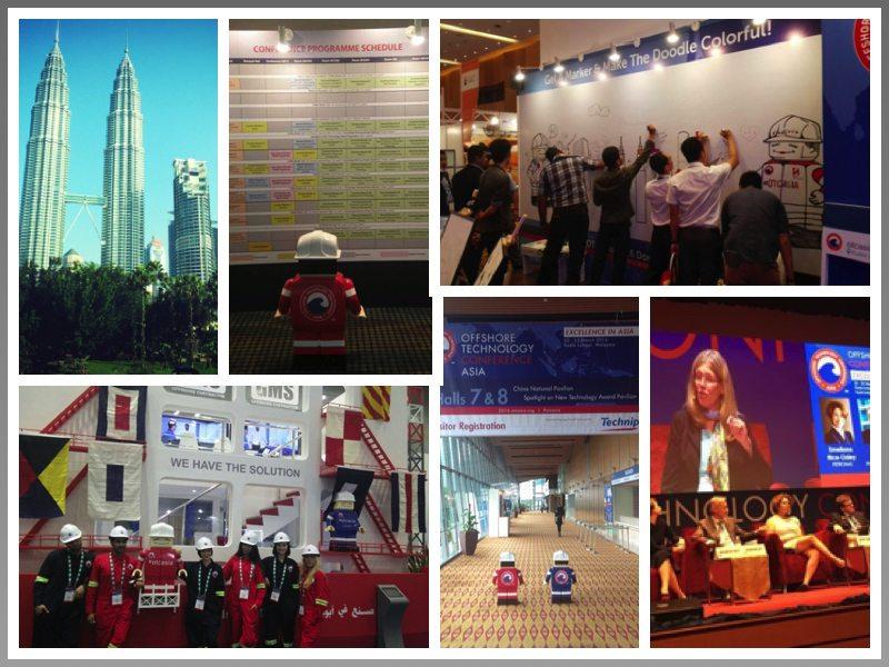 BCM Public Relations at OTC Asia Collage