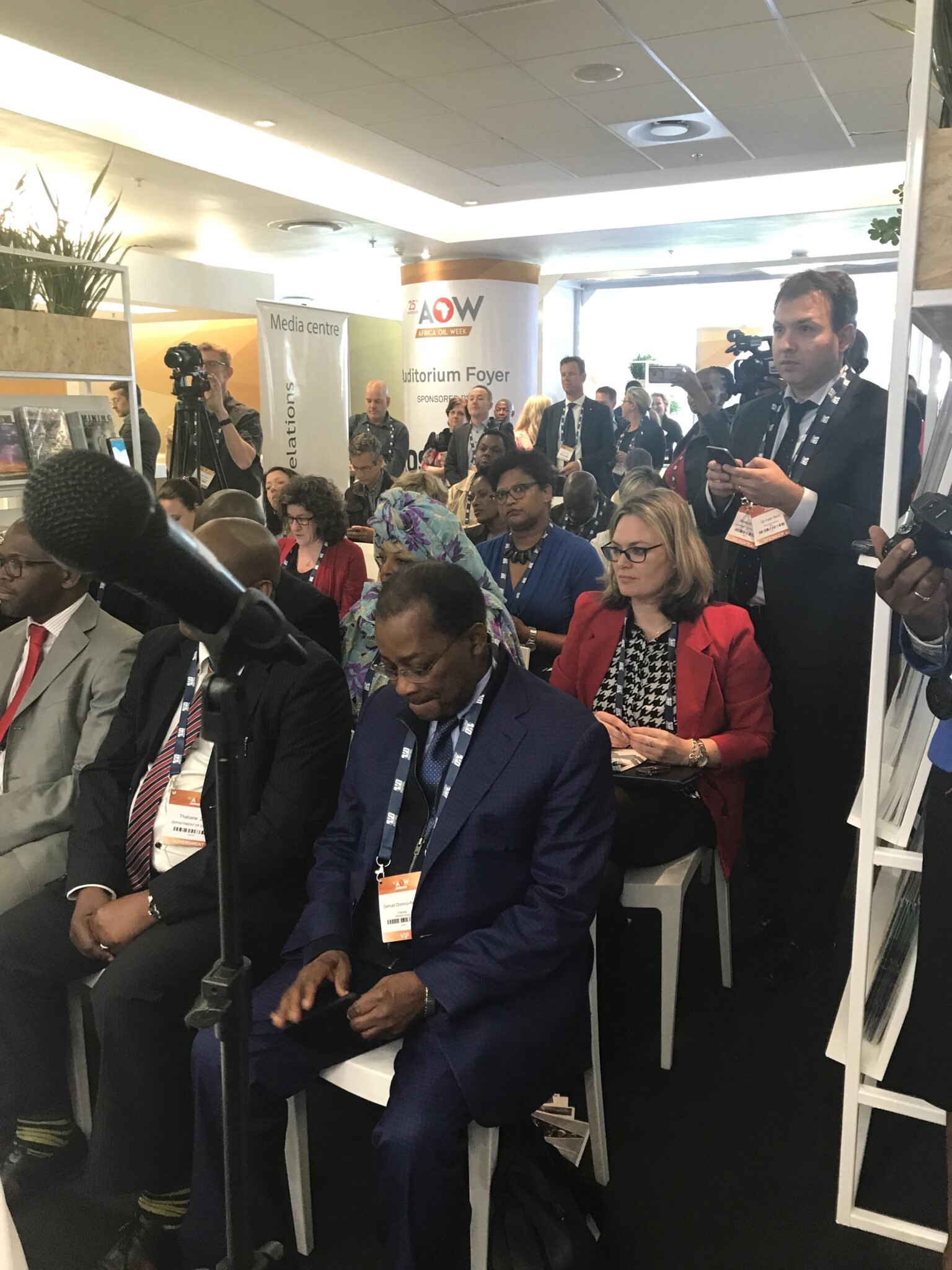 BCM Oil & Gas public relations at Africa Oil Week