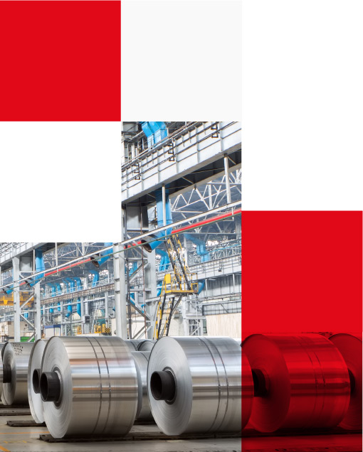 manufacturing of aluminium rolls