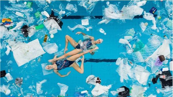 Swimming In It Plastic
