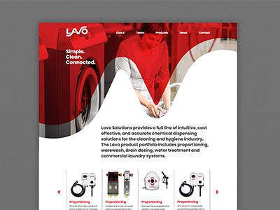 Lavo Solutions Web Site