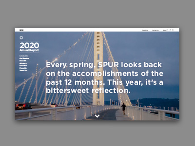 SPUR 2020 Annual Report