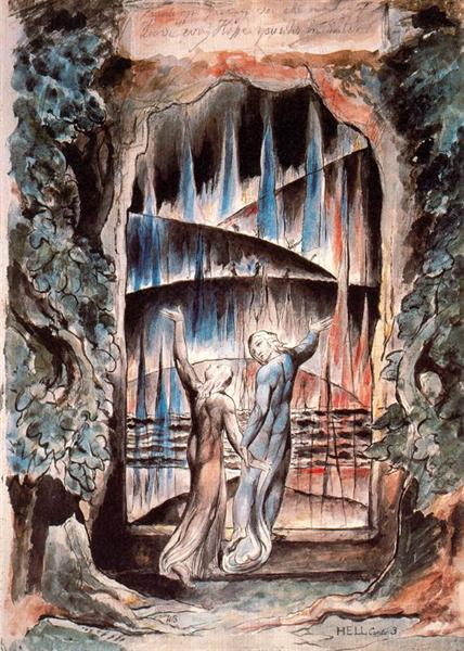 ENCOUNTERING IMAGES Series #1: Dante at the Gates of Hell