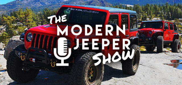 The ModernJeeper Show, Ep. 73 – A Truly Random Show – Jeep AC, Bronco Sales, Broken Glass & More…
