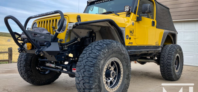 Cleaning Underneath the Hood of your Jeep!