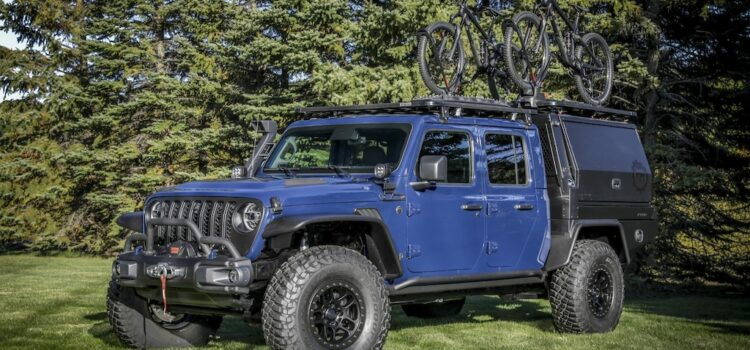 """The Awesome Jeep Gladiator """"Top Dog"""" Concept!"""