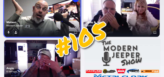 The ModernJeeper Show, Ep. 105 – Angie Wulf of Wulf Off Road – The Anaconda Trail, Scat Packs & Safe Words
