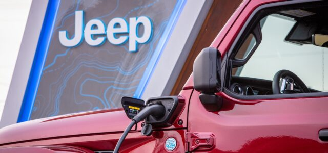 Jeep Charging Stations Begin To Appear