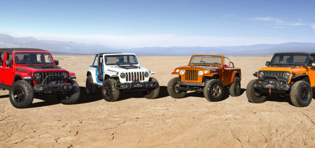 The 2021 Jeep Concepts Come To Moab!