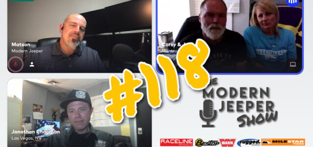 The ModernJeeper Show, Ep. 118 – Jonathan Chapman of American Off Road Customs – Favorite Trails, Favorite Mods & Problems with the 392