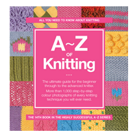 A to Z of Knitting book cover