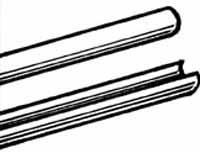 Magnetic feed rod illustration