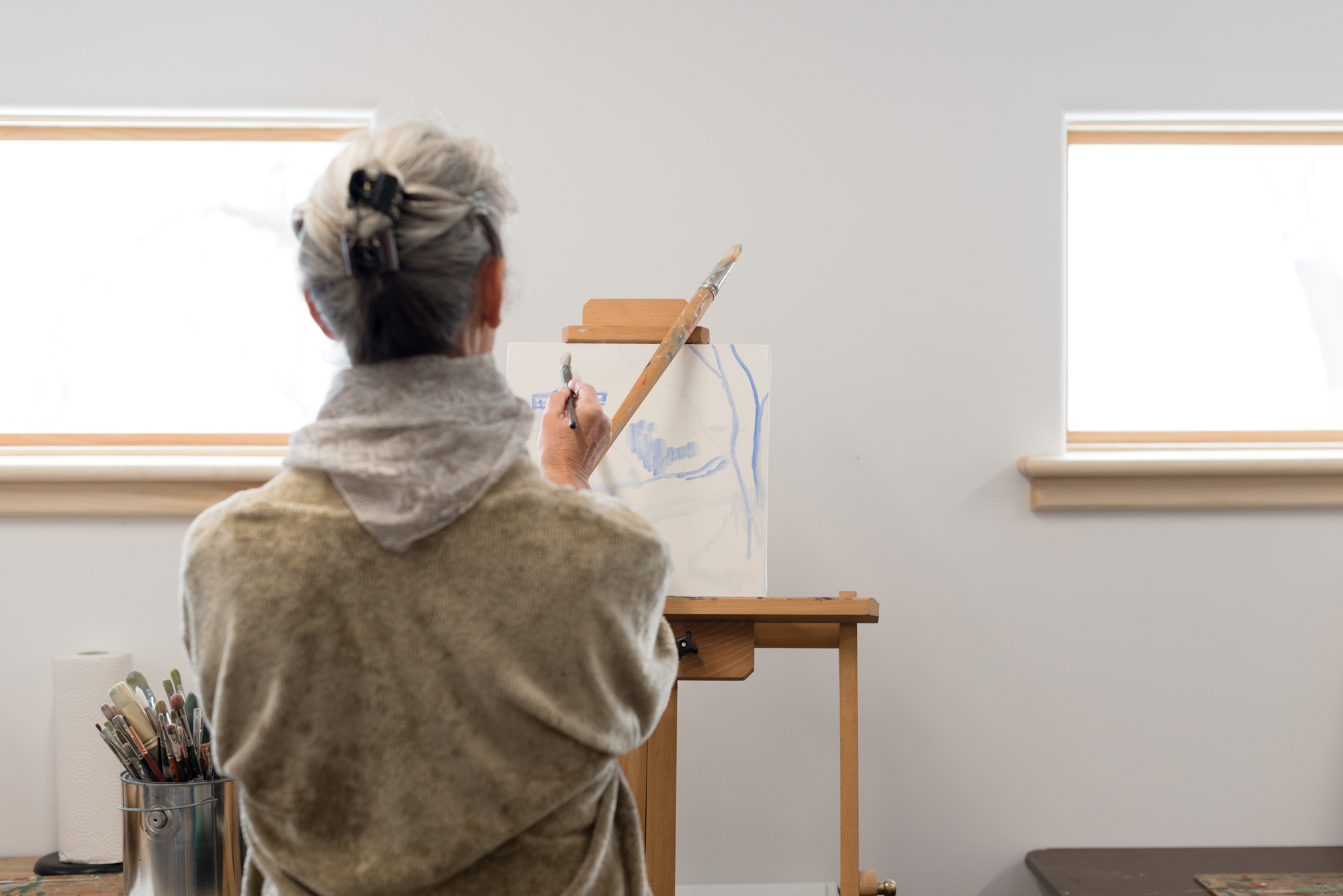 ArtCan student