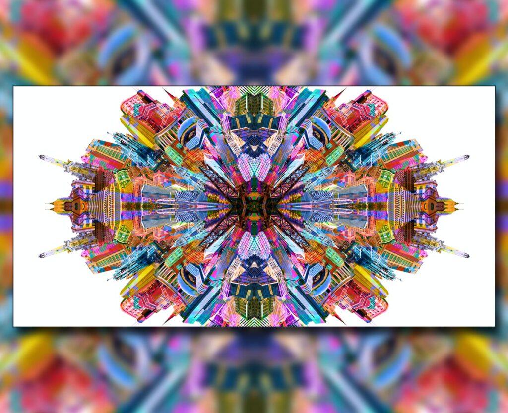 Chicago Kaleidoscope, 2019. Digital.