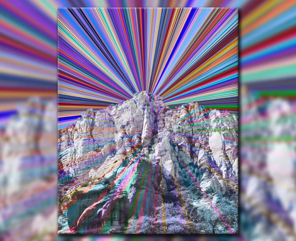Magic Mountain, 2019. Digital.