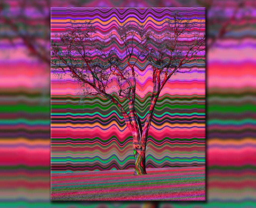 Tree Vibes, 2019. Digital.