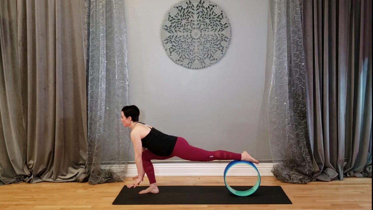 Yoga Wheel (20 min)