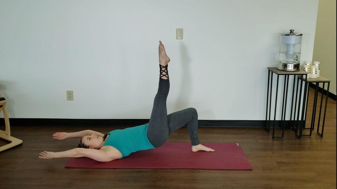 Mat Pilates 3- Beg/Int Class (28 min)