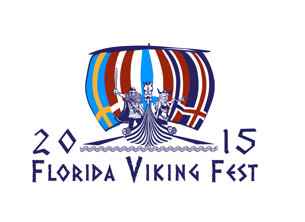 Florida Viking Fest Logo-by Kiki