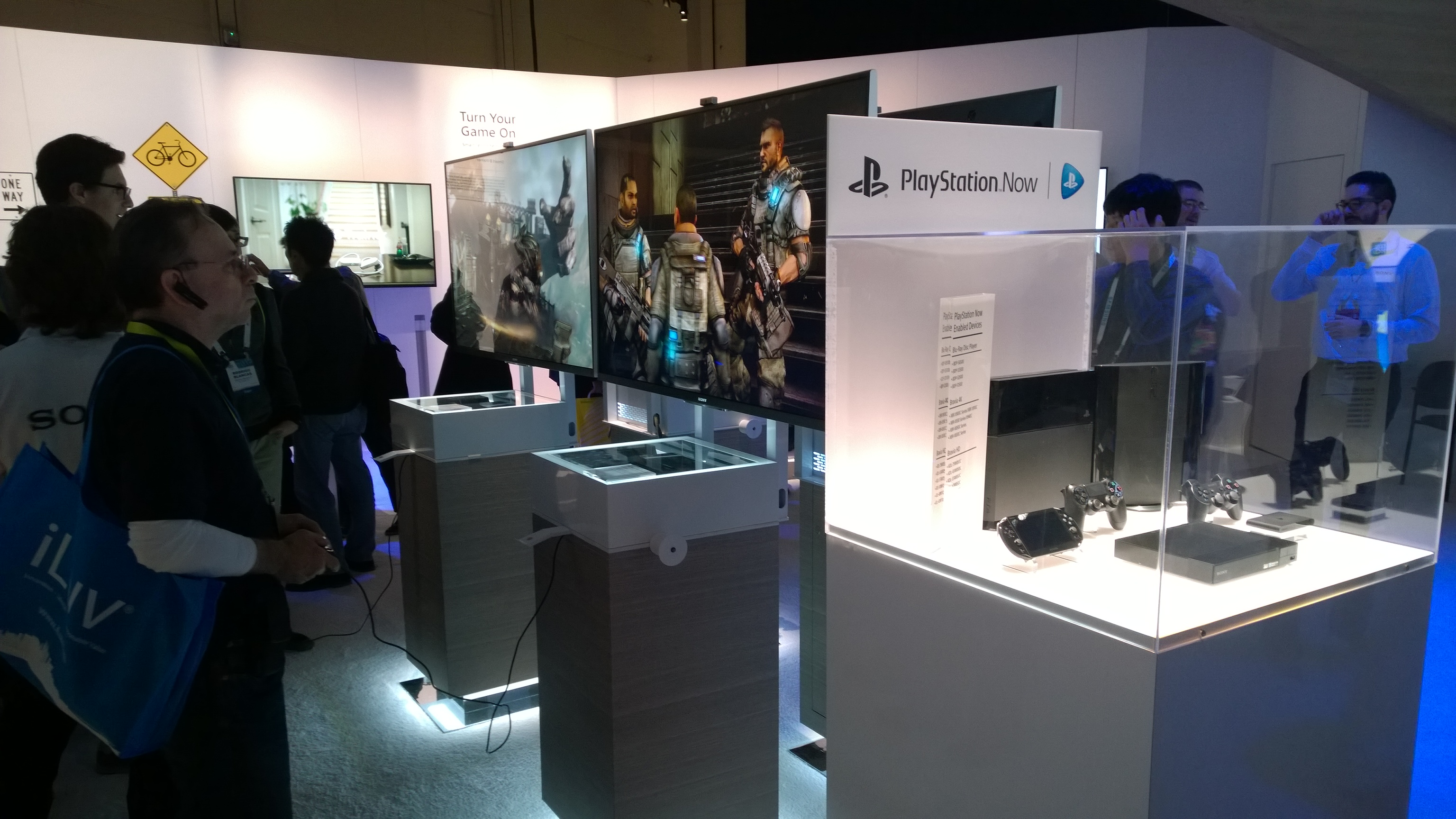 Playstation and Playstation Now service
