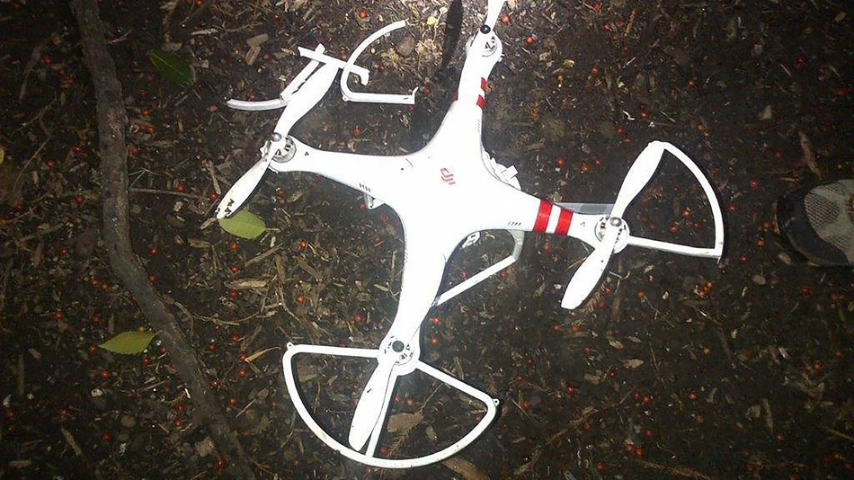 Drone that crashed on White House lawn