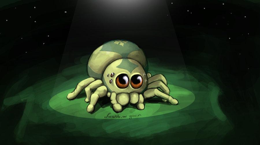 cute_spider_by_sawokmrgreen-d5jv2k0