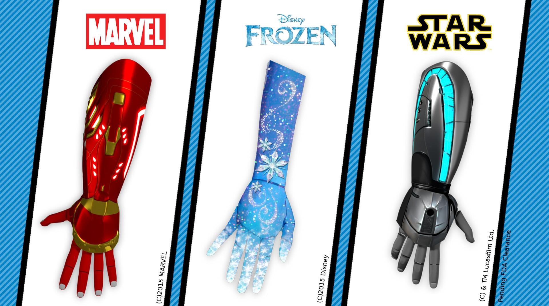 Themed prosthetics