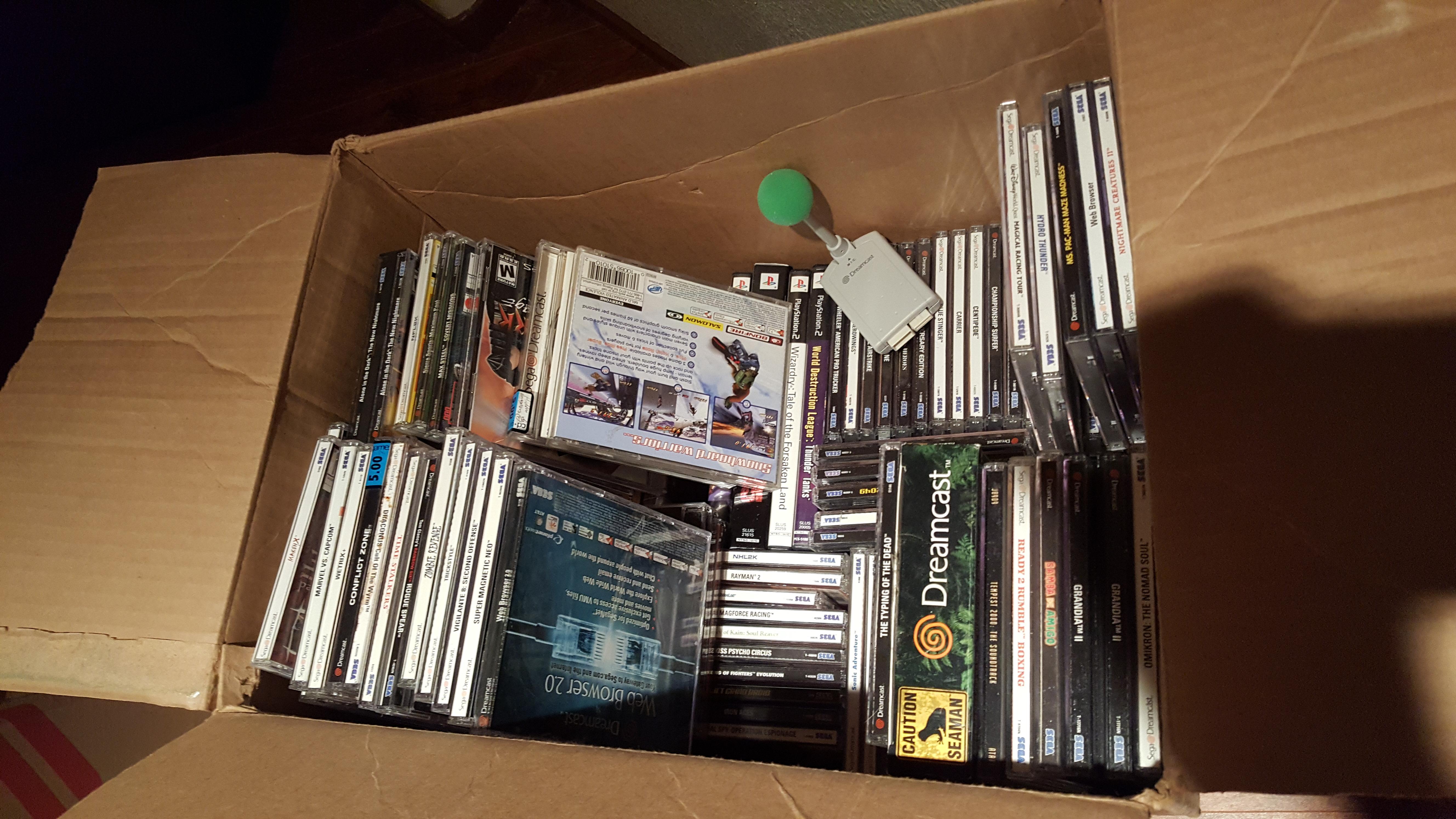 A lot of Dreamcast, a little PS2