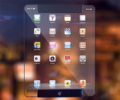Transparent iPad