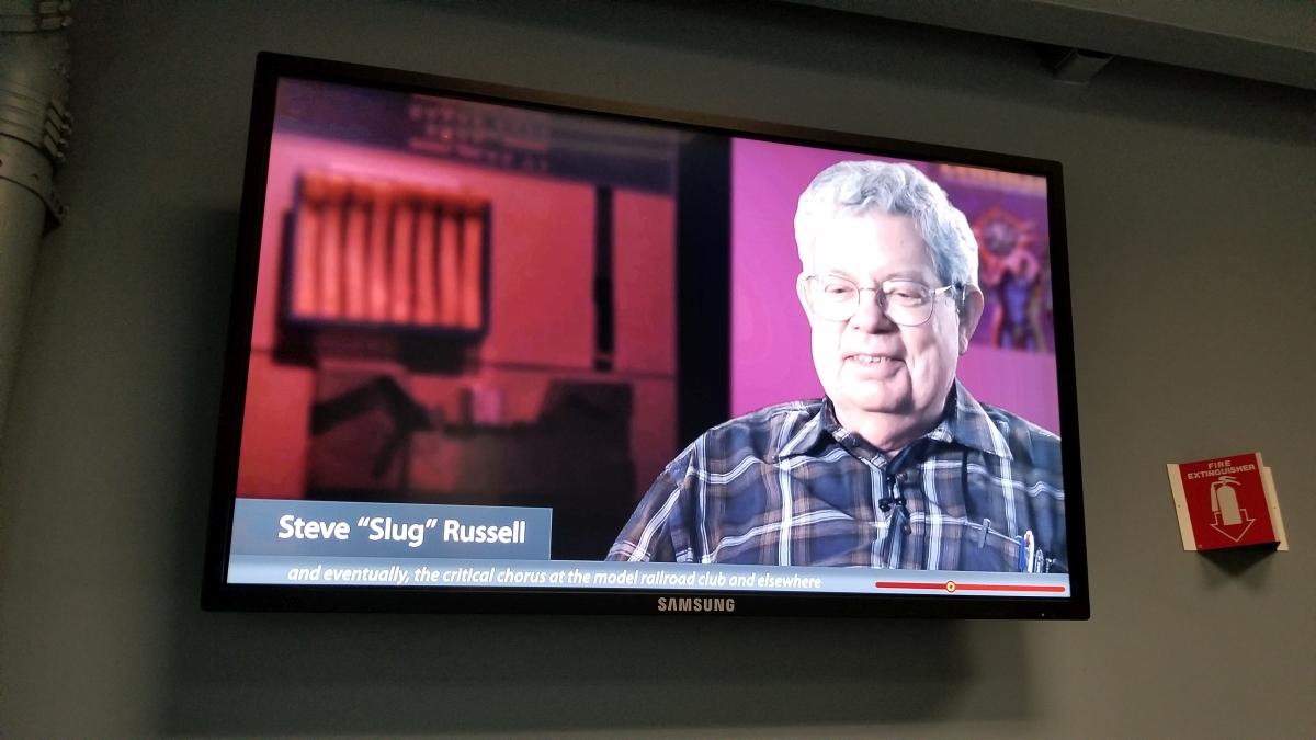 Steve Russell talking about Spacewar!