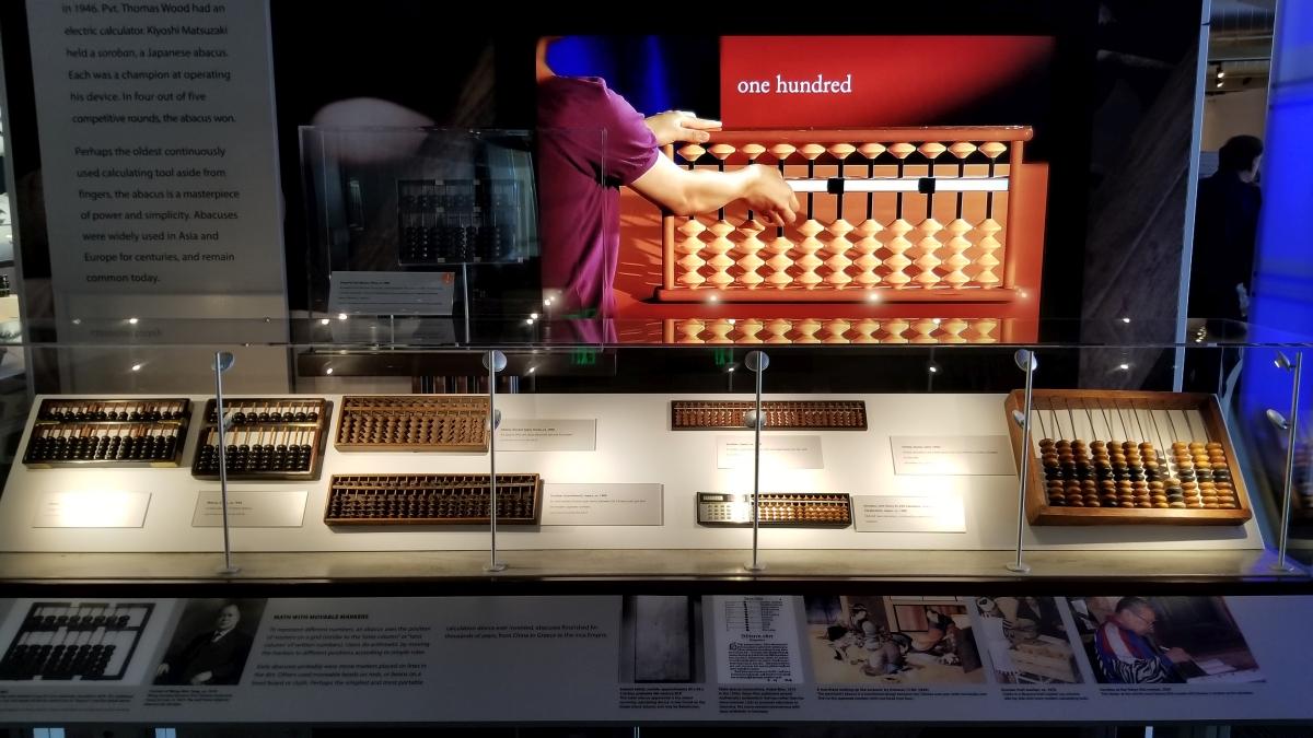 Abacus display