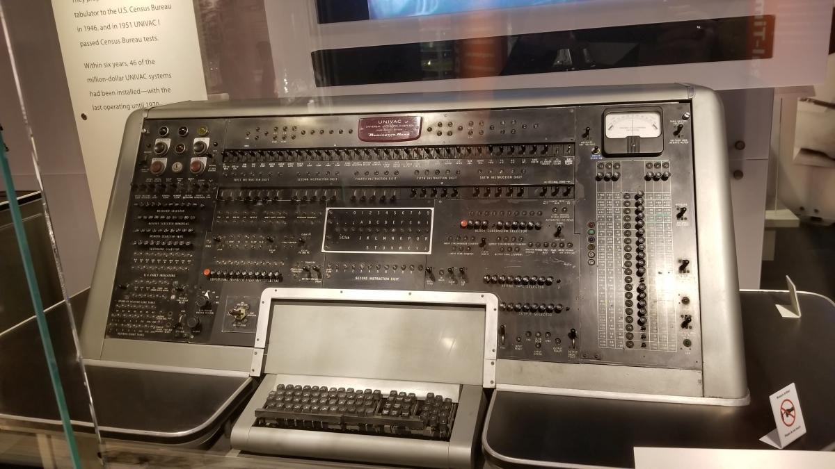 UNIVAC main control board