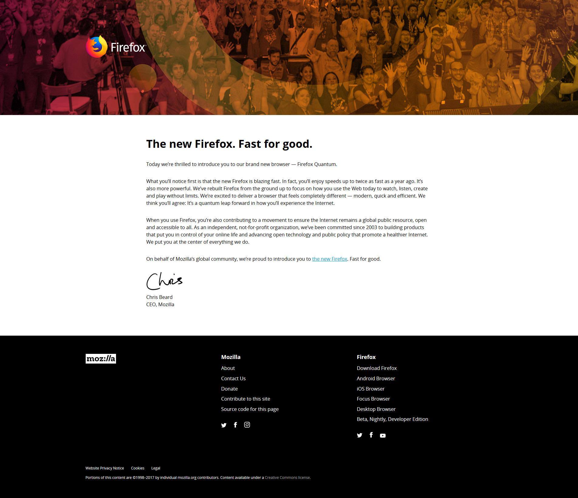 Full-page snapshot using Firefox