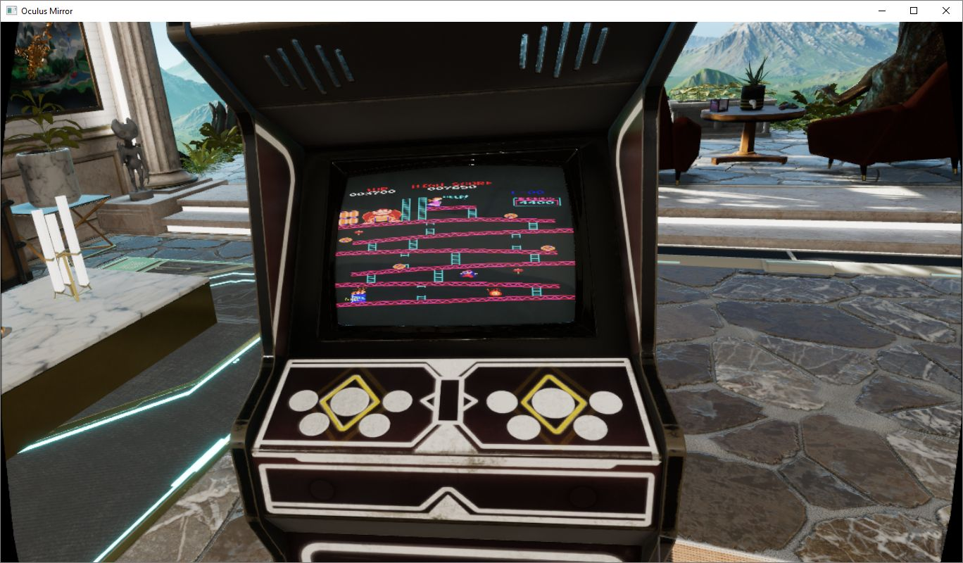 Running MAME in the arcade cabinet