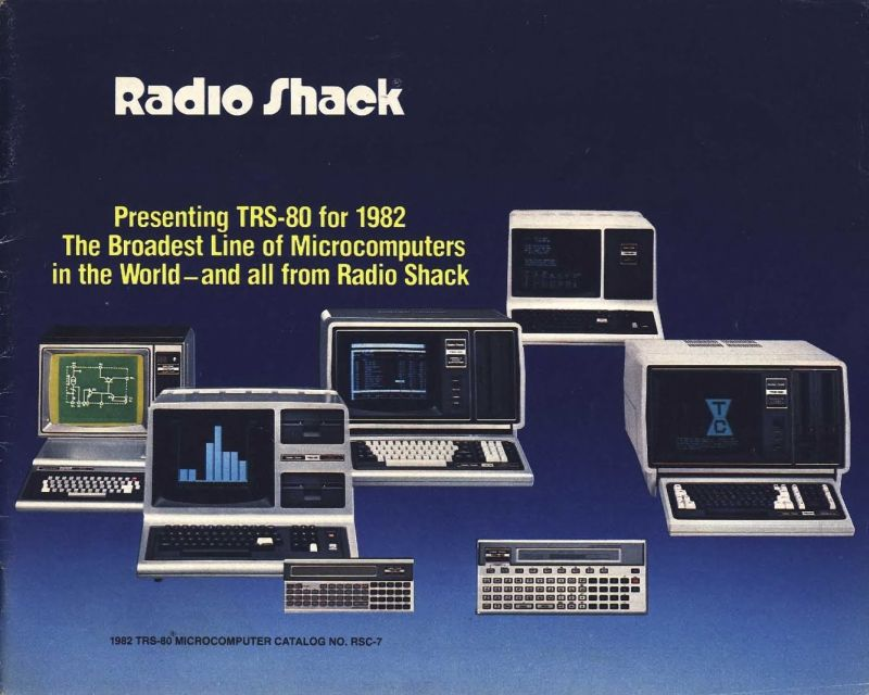 TRS-80 model line (for 1982, anyway)