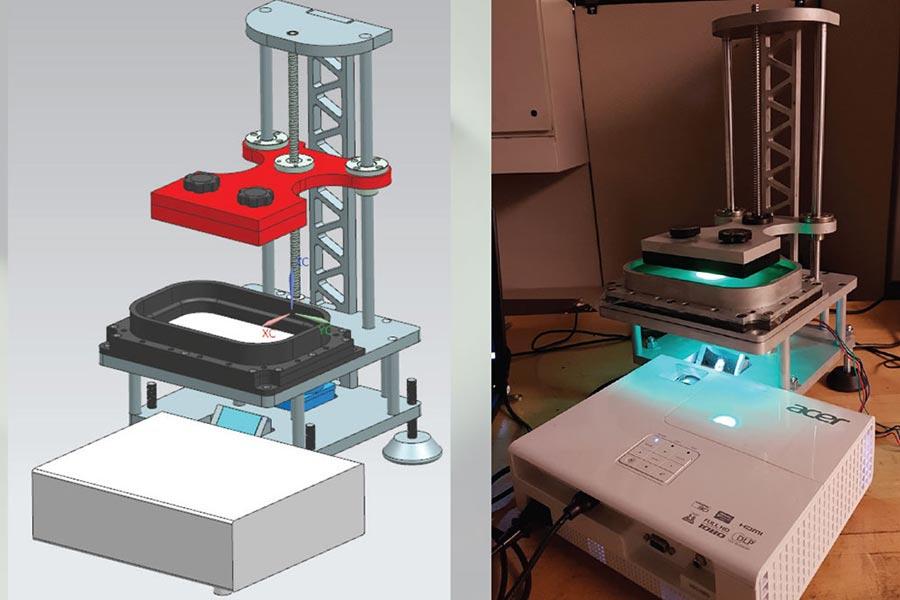 Design & Development of a Layer-less 3D Printing Mechanism