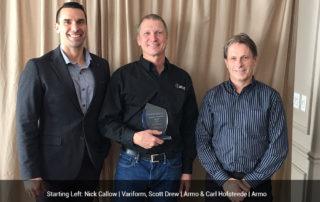 VariForm award's ArmoTool Supplier of the Year 2017