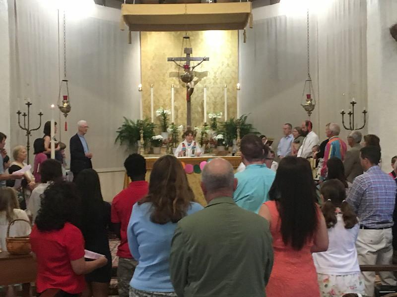 Family Mass, Easter 2016