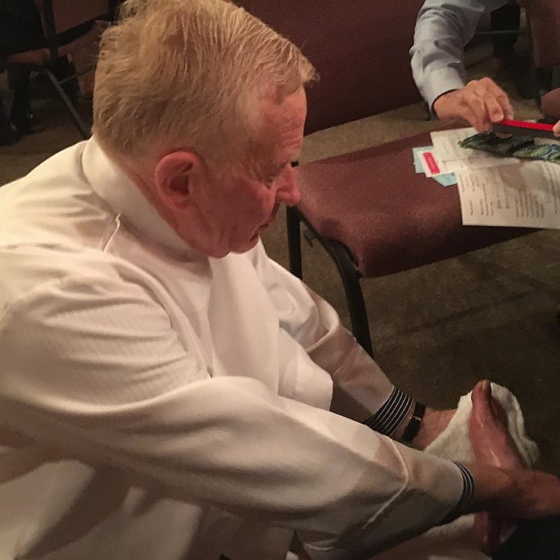 Washing of the Feet - Maundy Thursday 2016